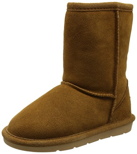 Chipmunks Girls' Jersey Boots Brown (Tan)