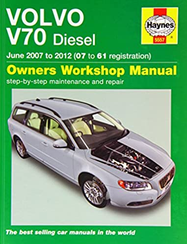 volvo v70 diesel june 07 12 haynes repair manual owners workshop rh amazon co uk Volvo S70 Shop Manual 2000 Volvo S70 Engine