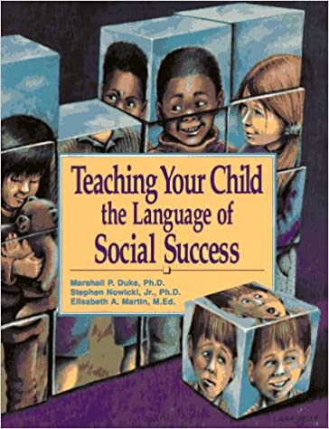 Teaching Your Child the Language of Social Success: Marshall