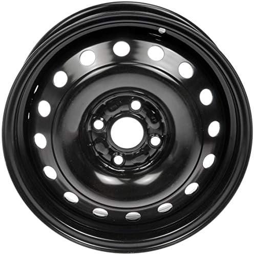 Dorman 939-259 Steel Wheel for Select Toyota Models (15x5/4x100mm) Black