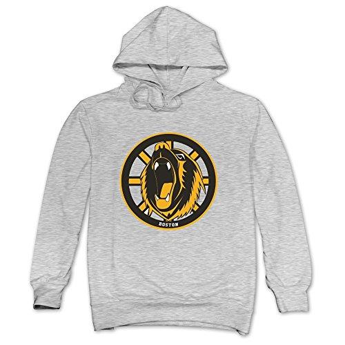 CRIS Tickets Hockey Schedule Boston Bruins Hoodies Ash For Men Boston Bruins Hockey Schedule