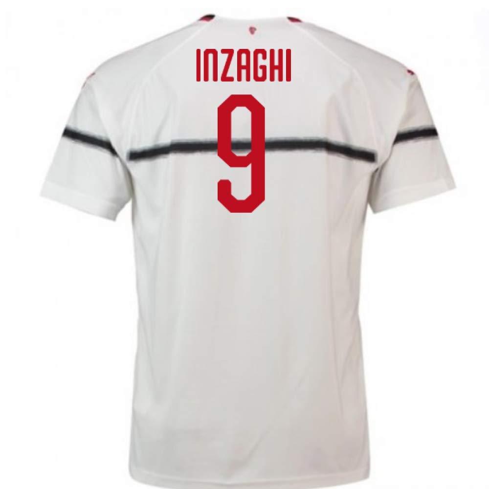 2018-2019 AC Milan Puma Away Football Soccer T-Shirt Trikot (Filippo Inzaghi 9) - Kids