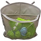 "KidLuf Bath Toy Organizer Corner with Mesh Pockets, Bath Toy Storage, (18"" x 14"" With 2 hook)"