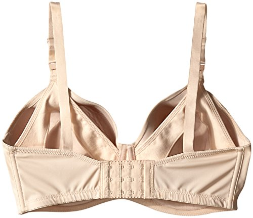 Leading Lady Women's Underwire Padded Nursing Bra, Nude, 34C