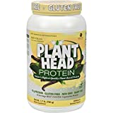 Genceutic Naturals Plant Head Protein - Vanilla - Gluten Free - Vegetarian - Great Taste - 1.65 lb (Pack of 4)
