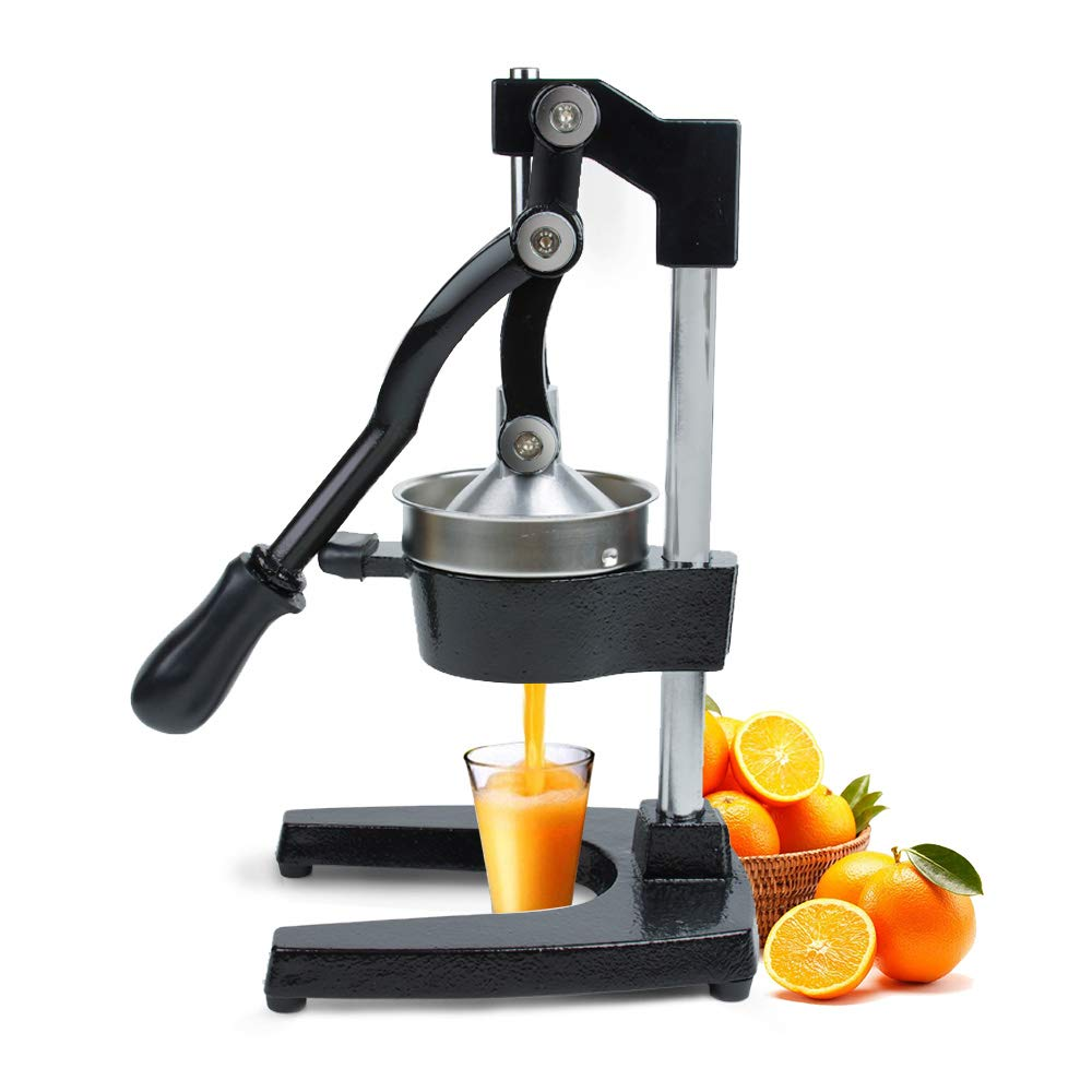 VIGIND Manual Citrus Juicer,Heavy Duty Commerical Grade Hand Press Orange Lemon Pomegranate Squeezer,Black by VIGIND