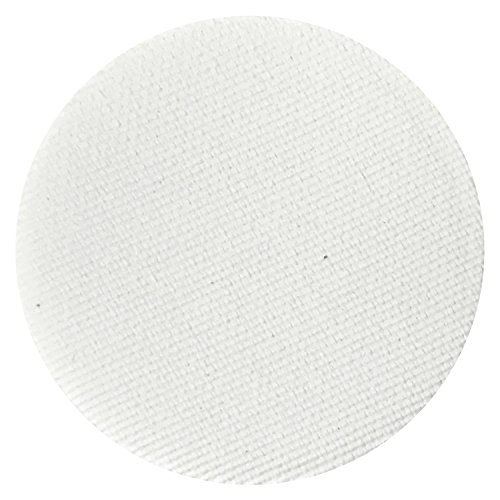 First Snow Matte White Eyeshadow Single Eye Shadow Makeup Magnetic Refill Pan 26mm, Paraben Free, Gluten Free, Made in the USA