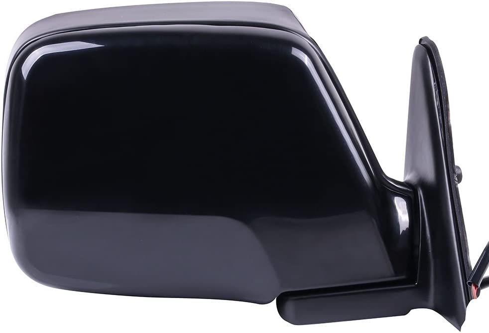 SCITOO Side View Mirror Driver Side Mirror Fit Compatible with 1990 Toyota Land Cruiser 1996-1998 Lexus LX450 1991-1997 Toyota Land Cruiser Power Adjustment Manual Folding Non-Heated