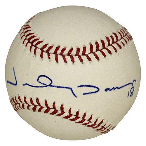 Autographed Baseball Damon Johnny (Johnny Damon Autographed Rawlings Major League Baseball - Certified Authentic)