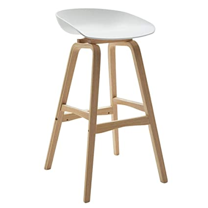 Awesome Amazon Com Solid Wood Barstools Modern High Stool With Spiritservingveterans Wood Chair Design Ideas Spiritservingveteransorg