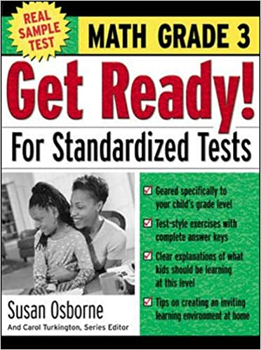 Get Ready! For Standardized Tests : Math Grade 3