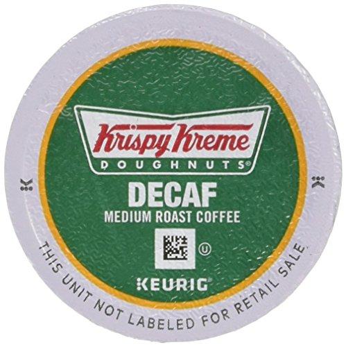 Krispy Kreme Doughnuts Decaf K-Cup Portion Pack for Keurig Brewers, 24 Count