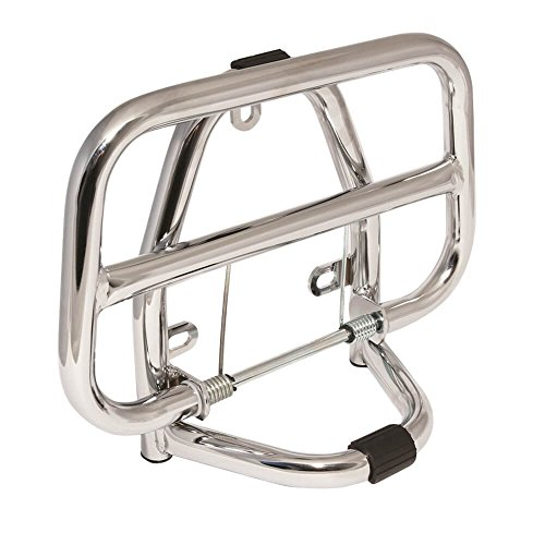 Scooter Front Rack for Genuine Buddy 50/125/150, Chrome Finish ()