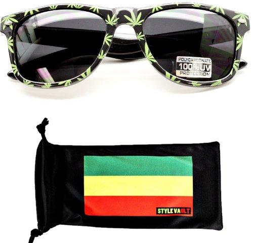 W3003-RP-Rasta-Marijuana-Weed-Pot-Leaf-Wayfarer-Sunglasses
