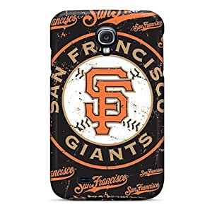 Protector Hard Cell-phone Cases For Samsung Galaxy S4 With Custom Nice San Francisco Giants Pattern SherriFakhry