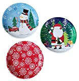 Christmas Holiday Printed Round Tin Christmas