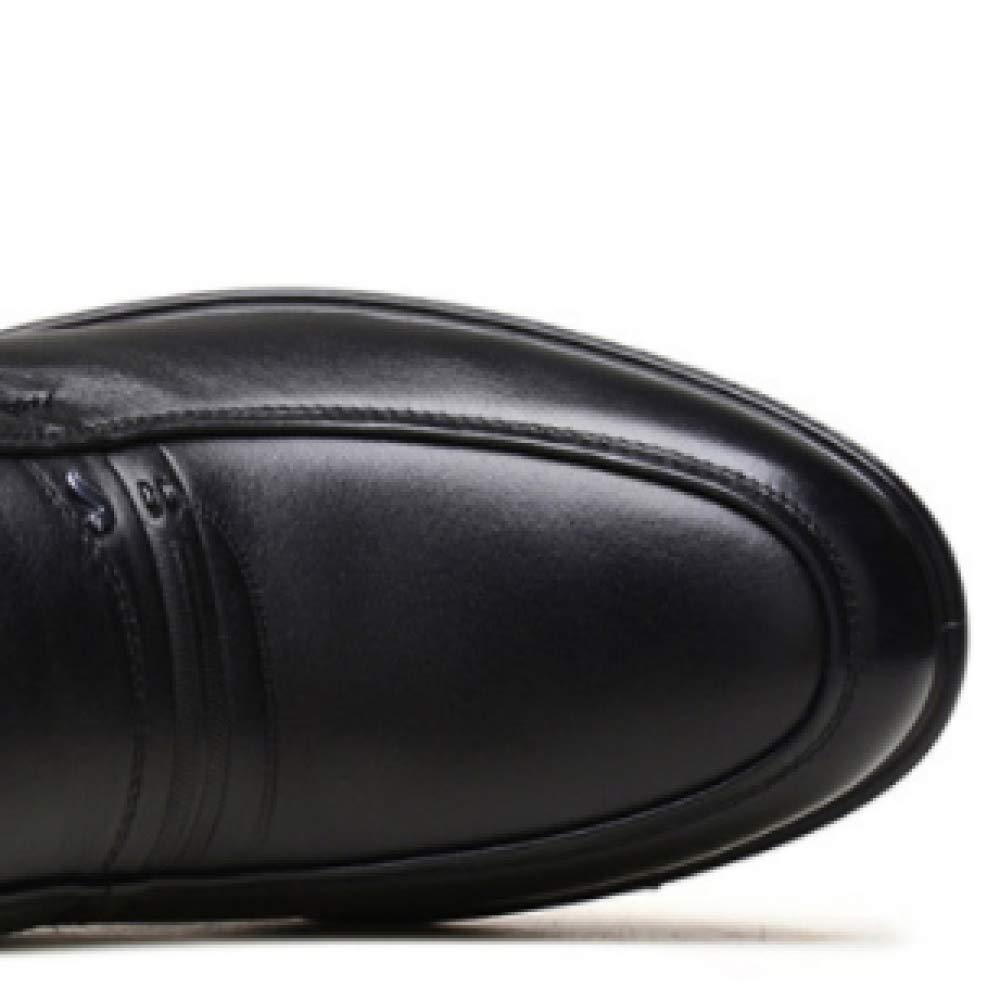 XDLJL Plus Velvet Cotton Schuhes Business Sets Herren Stiefel Fashion Booties Sets Business Von Feet schwarz 0350f9