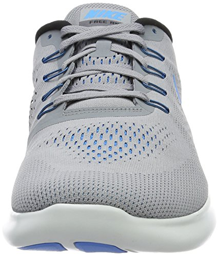 Nike Mens Free Rn Stealth / Blue Glow / Black / Cl Gry Scarpa Da Running 8 Uomini Us