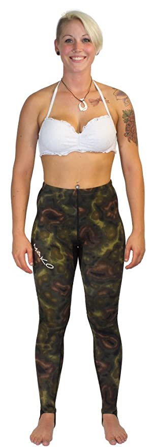 Amazon.com: MAKO Spearguns Dive Skin Rashguard Pants ...