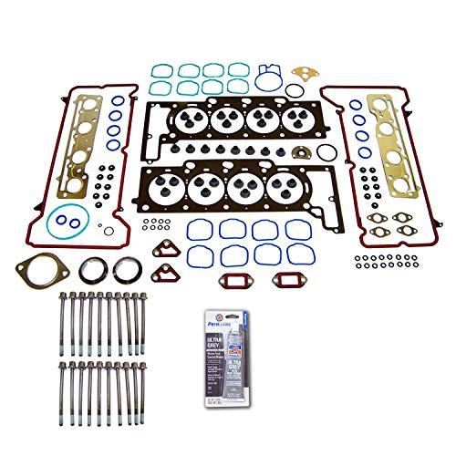(Head Gasket Set Bolt Kit Fits: 02-03 Cadilac Seville 4.6L V8 DOHC 32v NORTHSTAR)