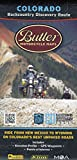 Colorado Backcountry Discovery Route Motorcycle Map, COBDR Dual-Sport Route