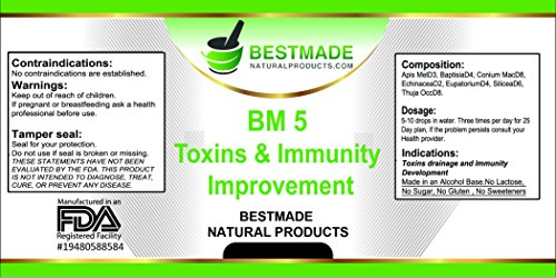 Toxins Cleanse (Bm5) a Strong , but Gentle Formula to Clear Out Toxins and Improve Health Photo #4