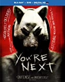 You're Next [Blu-ray + DVD + Digital HD] cover.