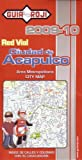 Ciudad de Acapulco Map by Guia Roji (Spanish Edition)