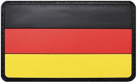 Copytec Deu Patch 3d Rubber Deutschland Germany Bw German Fahne Deutsch Aufnäher Klett Uniform Bundeswehr Schwarz Rot Gold 8x5cm 20847 Küche Haushalt