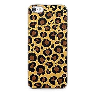 Jaguar iPhone 5s Tranparent Edge Case - Animal Prints Collection
