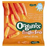 Organix Goodies - Stage 2 from 7 Months - Fingerfoods - Carrot Sticks - 20g
