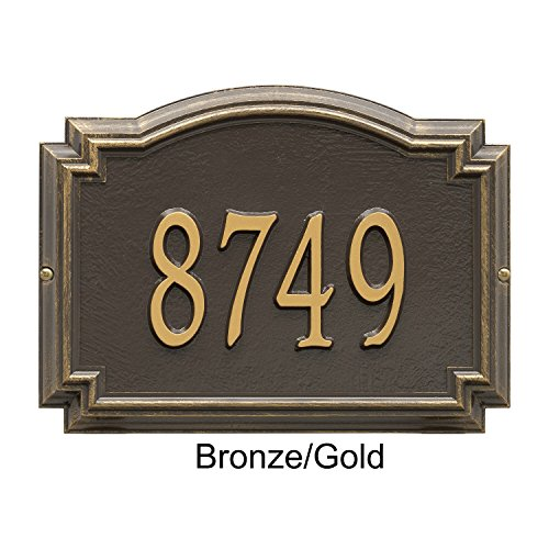 Williamsburg - Standard Wall - One Line Bronze-Gold by Whitehall