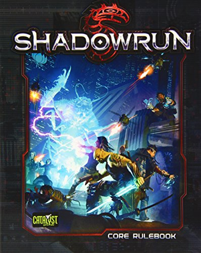 Shadowrun Fifth Ed Softcover -  Catalyst Game Labs, 4th Edition, Paperback