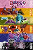 Trends International Unframed Poster Prints, Monsters University Grid