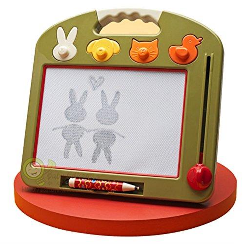 子供用 ドローイングボード 1~3歳 子供用 ドローイングボード 磁気ライティングボード ファッション 家庭 男の子 女の子 グラフィティ ボード 男の子 女の子 子供のおもちゃ グリーン