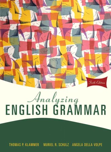 Analyzing English Grammar (6th Edition) (Volpes Online)