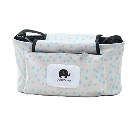 Universal Fit Cochecito Organizador con dos portavasos aisladas mejor regalo para baby shower Organizar Accesorios para