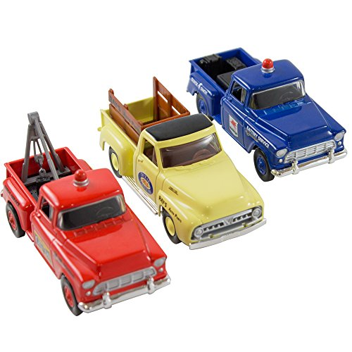 Matchbox Collection - Mobilgas Service - Rays Auto Part - Champion Towing ()