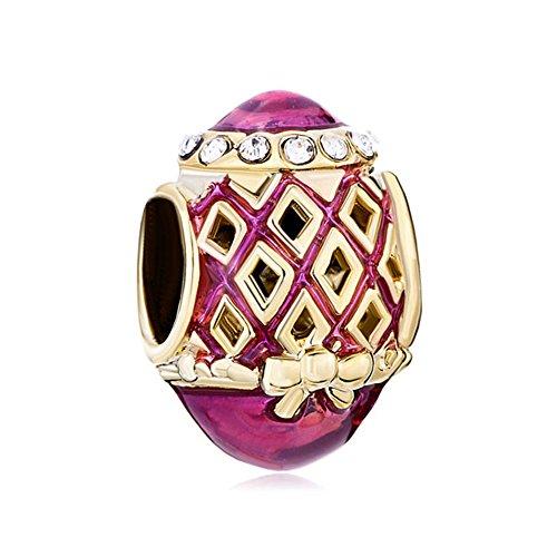 CharmsStory Faberge Rhombus Bowknot Bracelets