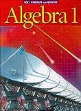 img - for Holt Algebra 1: Student Edition ?de?ed???de??d??? 2003 2003 by James E. Schultz (2002-07-10) book / textbook / text book