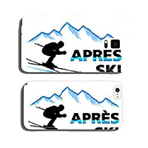 Winter sports - Mountain - 10 cell phone cover case iPhone5