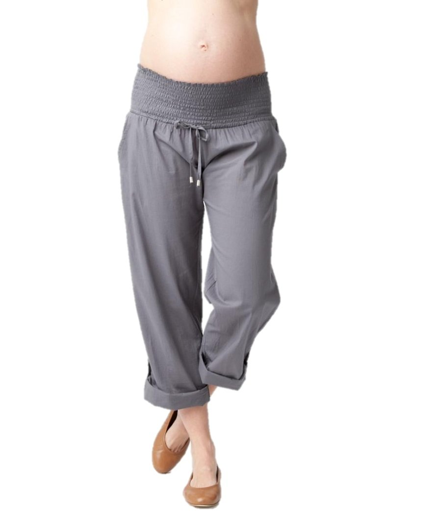 Ripe Maternity Women's Maternity Philly Pant, Sulphur, Small by Ripe