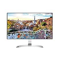 "LG 27MP89HM-S.AEU Monitor 27"" LED IPS, Full HD 1920x1080, 5ms, AMD FreeSync 75Hz, 2x HDMI, 1x VGA, Speaker Stereo Integrati, Borderless, Argento"