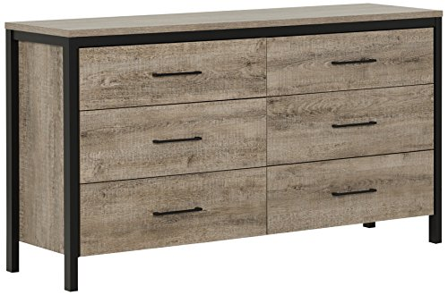 South Shore Furniture Munich 6-Drawer Double Dresser,, used for sale  Delivered anywhere in Canada