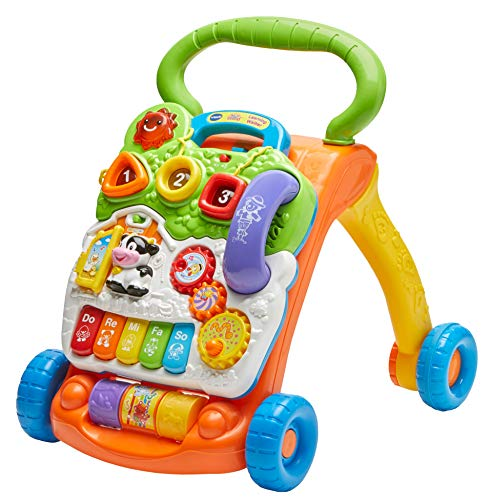 VTech Sit-to-Stand Learning Walker (Best Educational Toys For Babies 6 12 Months)
