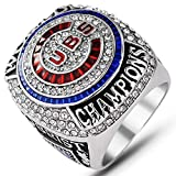 AJZYX 2016 Cubs Chicago World Championship Ring Replica Rings Souvenir for Fans Size 9