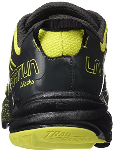 La Sportiva Akasha Calzado, Hombre Negro / Amarillo