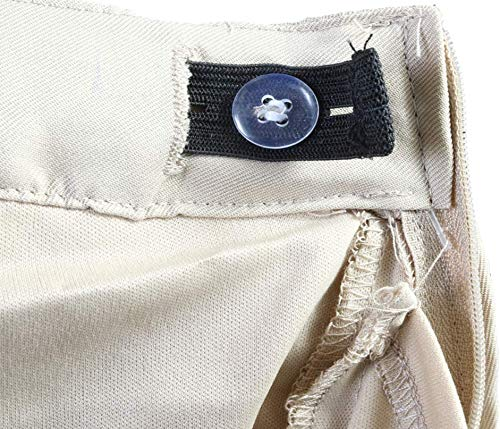 'Beverly Hills Polo Club Girls School Uniform Belted Low Pleat Scooter, Khaki, Size 10' by Unknown (Image #3)