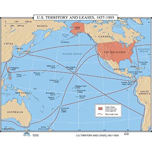 Amazon.com: Universal Map 762549637 no.030 US Territory ...