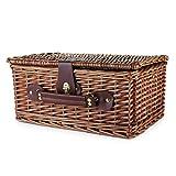 Twine Seaside Newport Wicker Picnic Basket
